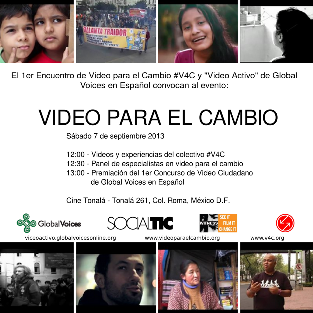 Video for Change and Video Activo Awards Ceremony.
